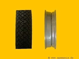 Sommerreifenset - Michelin S83 - 100/90-10